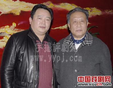 平剧张氏学派的创始人张德福先生接受黑龙江平剧剧院院长张坤为弟子。