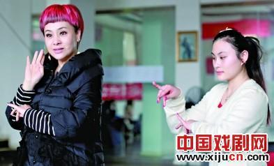 刘紫薇想把京剧的创作向前推进一点。