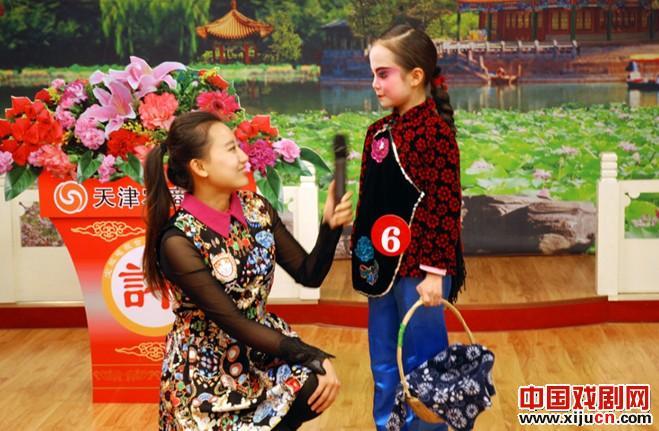 汉沽四号儿童在宝坻评剧大赛中获得特别奖