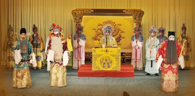 2012年湖北京剧院北京之旅是一部优秀的传统戏剧《大国保·唐璜·林格·公瑾》