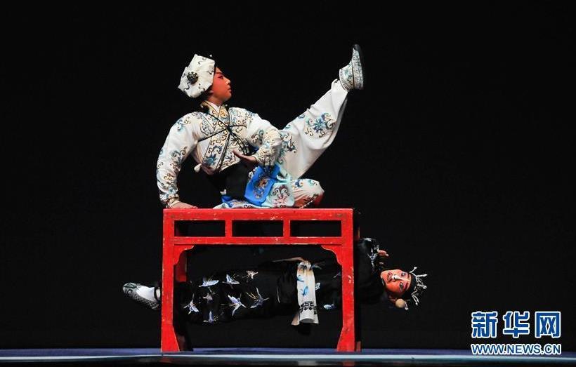 京剧《三岔口》、《天女华三》、《大天宫》等精彩剧目在波兰上演