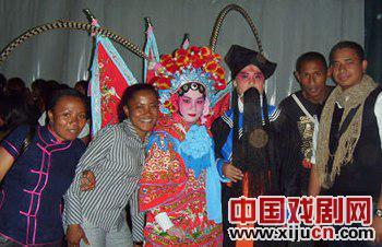 孔子学院将京剧带到马达加斯加