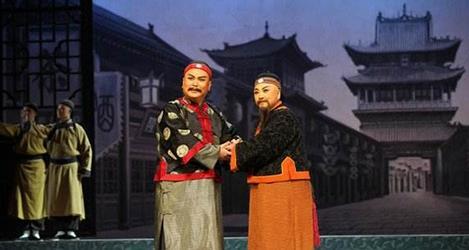 历史新剧《日升昌朴号》在河南郑州河南艺术中心演出