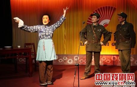 """固始县梨园会馆赴全省报道""""京剧表演"""""""