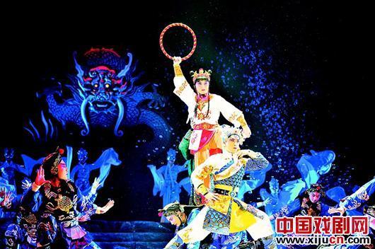 浙江京剧团在京剧艺术节上表演大型神话京剧《哪吒》