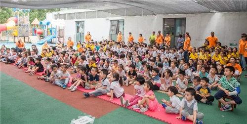 程派艺术培训杨蕾歌唱班进入北京伊顿幼儿园
