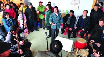 滦南县回放传统文化