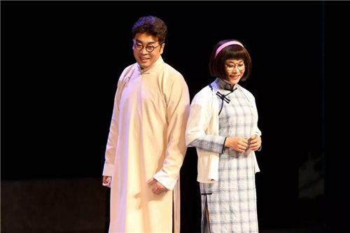 新创作的革命现代金剧《高于君与石萍梅》连续三场演出。