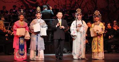 梅兰芳京剧团在加拿大举办了一场新的大型京剧交响音乐会——冯美静韵