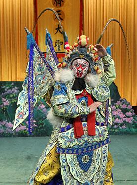 9月20日,长安大剧院上演了京剧《天宫》