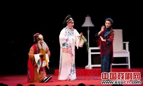 魏海民带领台湾国光剧团到北京演出《孟晓东》和《未央天》