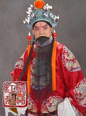 2月20日,长安大剧院上演了京剧《红鬃与凶马》