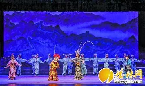 玉林剧院上演金歌剧《杨家镇传奇》