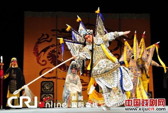 京剧版《复仇者联盟》在爱丁堡国际艺术节上演