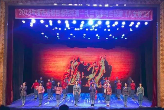大型红色历史经典戏剧音乐剧《八姑娘投江》震撼上演。