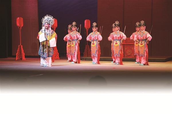 新历史京剧《孙尚香》正式开幕