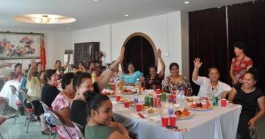 密克罗尼西亚联邦大使馆妇女小组周末举办京剧文化主题茶会