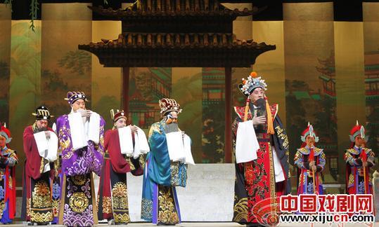 """陕西京剧院的""""铜牛""""亮相第七届陕西艺术节"""