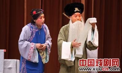 Xi派的老生张建国表演经典传统剧目《四个学者》