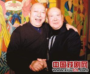 沈复春和尚常戎将在同一个舞台上演唱京剧《霸王别姬》。