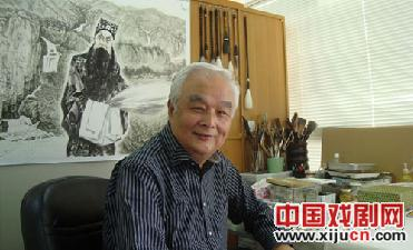 李文配将于11月11日在东京举办京剧人物和京剧三国人物展览