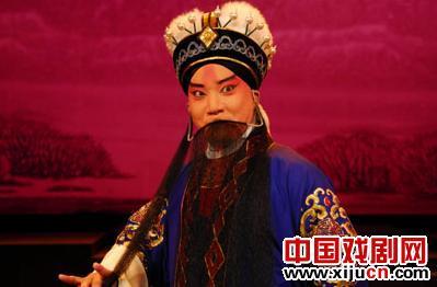 """20世纪80年代出生于福建京剧院的""""老生""""田雷获得了梅花奖。"""