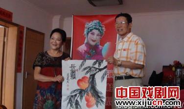《中国艺术家》杂志采访评剧艺术家张书贵