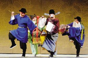 湖北京剧院天津之旅
