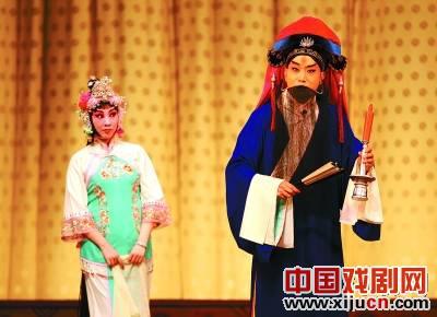北京京剧院上演了一出换戏