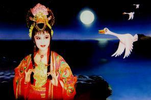 甘肃省京剧团重新编排童话京剧《野天鹅》