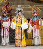 京剧《武则天轶事》今晚将在梅兰芳大剧院上演。