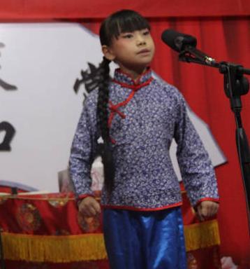 董千千,一个爱鞠萍的10岁浙江女孩