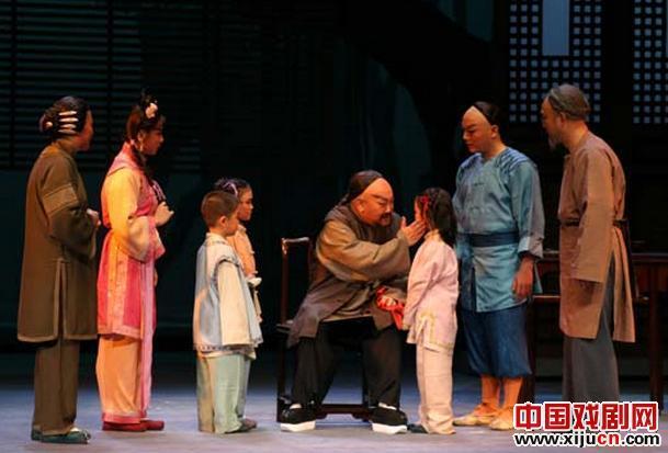 刘林表演的吕梁青年金剧院新历史剧《联立于成龙》