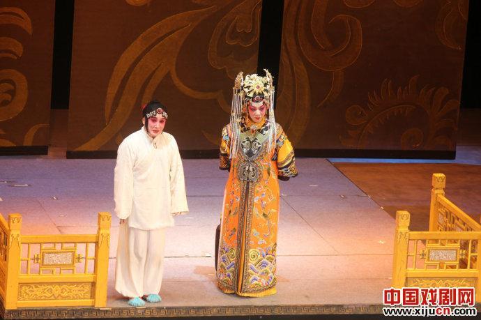 2012年全国优秀剧目京剧《无意与钦点》