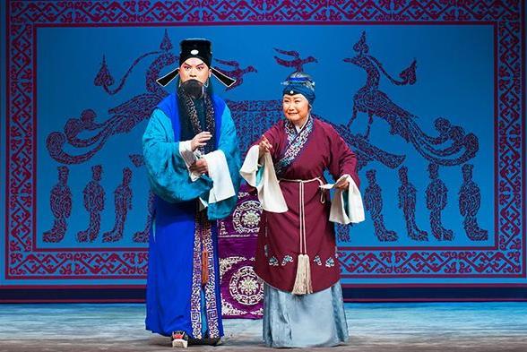 国家大剧院新传统京剧《许穆传》在梅兰芳大剧院演出