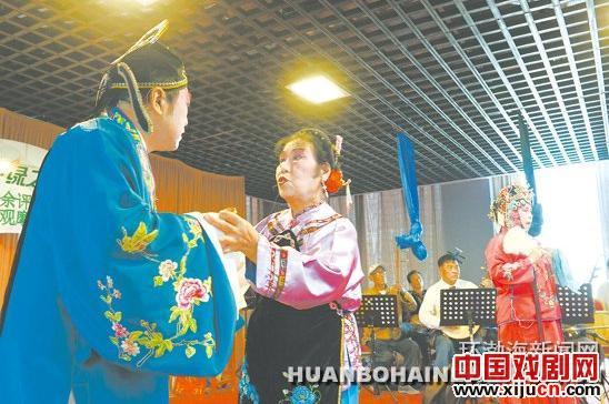 唐山市城乡业余评剧团交流与戏曲观察