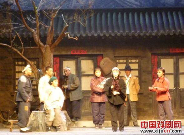 太原解放65周年上演晋剧《马尚街》