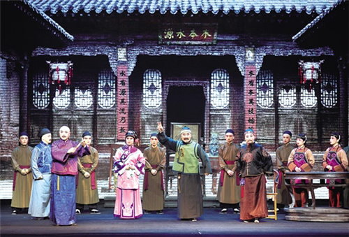 新晋歌剧《王家大元》在晋中体育馆隆重上演