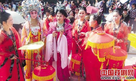 京剧俱乐部范静社区之友成立五周年庆典
