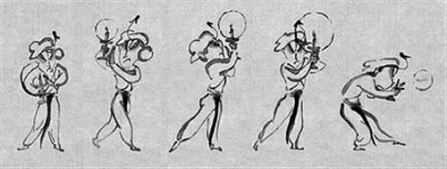 水墨卡通《三岔口》获得国际大奖