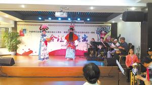 明星北京戏剧协会举办了一场演出来庆祝成立10周年。