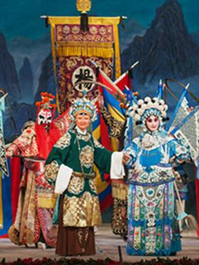 2015年,国家京剧优秀青年演员报告特别会议和一批国家京剧优秀青年演员表演了京剧《青年男女》