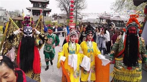 传统金剧《古城会》表演