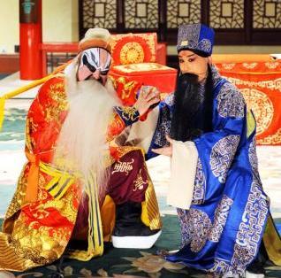 《年轻的朋友相遇》国家京剧剧院优秀年轻演员表演京剧《江香河》