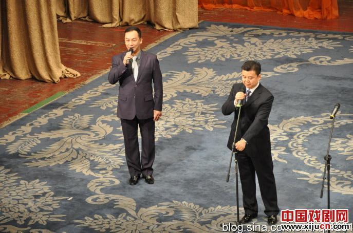 马甲与中国第五届研究生京剧经典音乐会