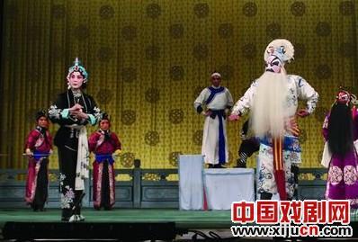 """2011年""""迷人的春天""""青年京剧演员挑战赛:京剧《龙潭保罗》"""