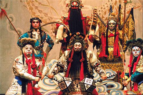 欣赏京剧的五大要素