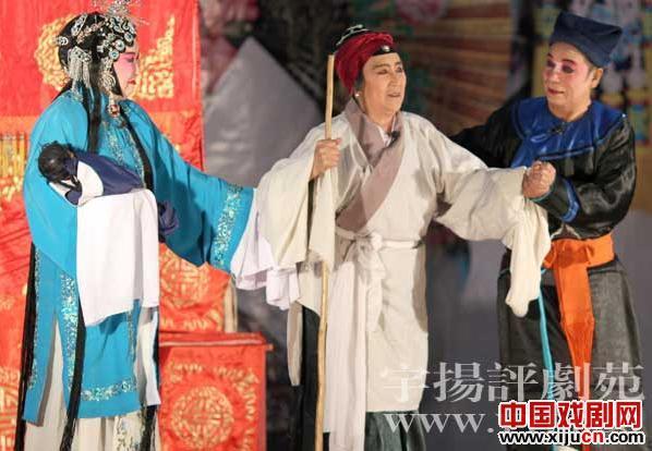 张曙光去沧州支持白人学校的老戏《刘芸打母亲》