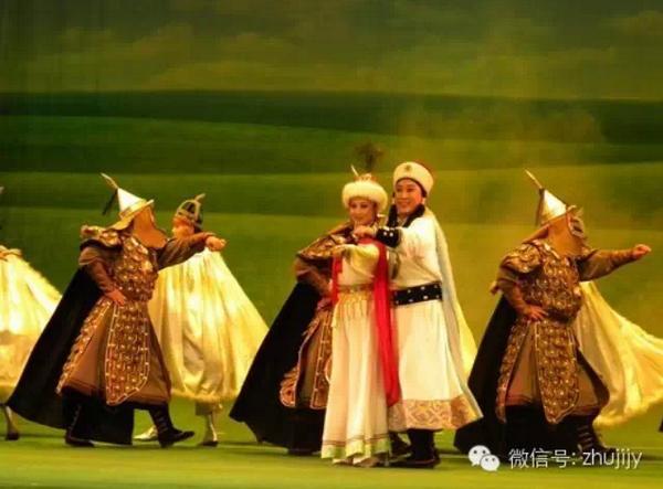 呼和浩特民族表演团金剧院将在诸暨剧院演出大型蒙古族历史剧《满洲海》。