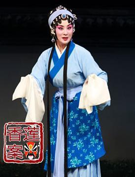 1月26日,长安大剧院上演了京剧《香莲案》